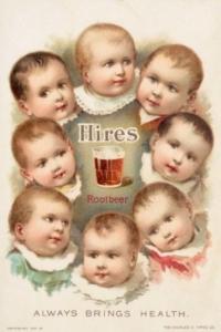 rootbeer.de | Historisches Root Beer Plakat von Charles Hires